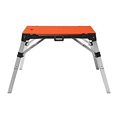 Disston 30140 4 in 1 Portable Workbench, Orange from DISSTON COMPANY