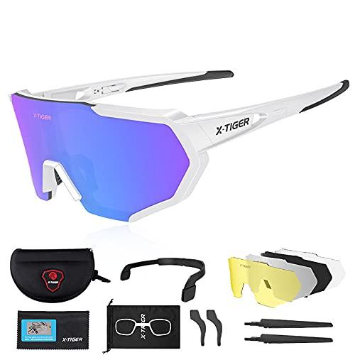 X-TIGER Gafas de Ciclismo (JPC06)