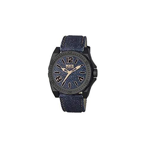 Watx Reloj Análogo clásico para Hombre de Cuarzo con...