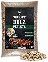 Moesta BQ 19303 5 kg de granulés de bois dur Sheriff – Arroma fumé pour tous les goûts – Pomme – sucrée, smoky ou épicé