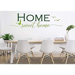 """*NEU* Wandaufkleber-Wandtattoo-Wandsticker/Flur""""HOME sweet home"""" ein.- oder zweifarbig wählbar"""" (Größen.- und Farbauswahl)"""