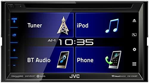JVC KW-V350BT Multimedia Receiver with Bluetooth