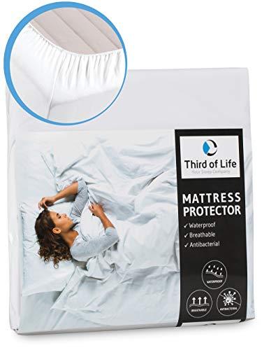 100% wasserdichter Matratzenschoner | Hygienische und atmungsaktive Matratzenauflage | Anti-Allergie Matratzenschutz | Wasserfester Rundumbezug | Dermathologisch getestet | Optimaler Anti-Milben Bezug
