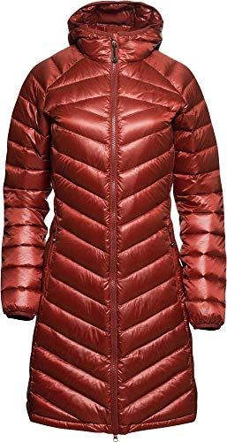 YETI Pearth W's Down Coat Damen Daunenmantel Mantel, Cranberry red, Größe M