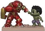 Pop Movie Marvel Moments # 394 Hulkbuster Vs Hulk PVC Figuras de acción Pop Marvel Hulk Avengers Figuras Modelo Juguetes Regalos