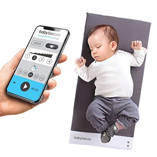 Baby Brezza Smart Soothing Mat - Vibrating Baby Mat/Soother Pad Aides in Calming Fussy Baby for Easier Sleep, Infant: 0-12 Months