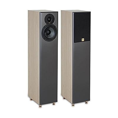TIBO Legacy 5+   Passive Hi-Fi Floor Standing Speakers   200W   Light Oak 23020 by Tibo