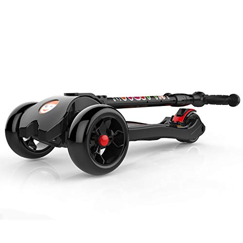 Patinetes clásicos Kick Scooter Plegable para rodamientos de 150 kg, Scooter Ajustable...