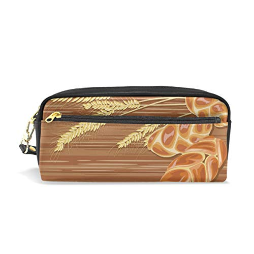 Traditionelle Challah Brot Holz Schule Stifteetui Kinder Stifthalter Große Kapazität Tasche Makeup Kosmetik Box Büro Reise Tasche