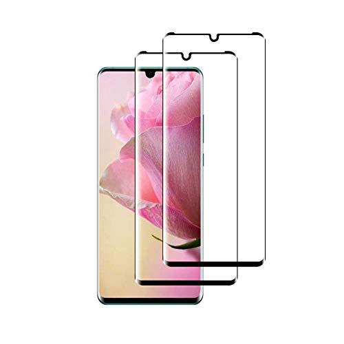 LPCJ 2Pack, Compatibile con Huawei P30 PRO Vetro temperato, Pellicola in Vetro, [durezza 9H], [Alta Definizione], [No-Bubble] Screen Protector per Huawei P30 PRO