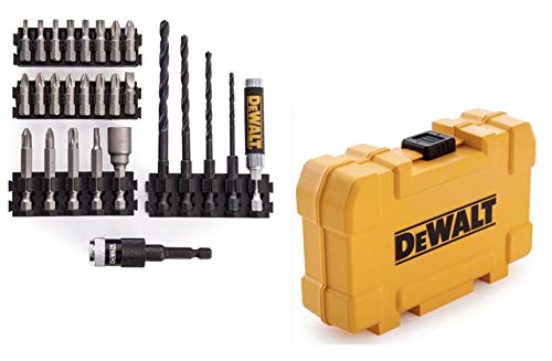 Dewalt DT71700-QZ Drill Drive Set Plus Rapid Load, Yellow