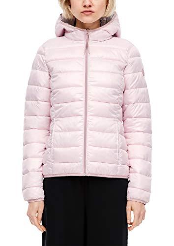 Q/S designed by - s.Oliver Damen Steppjacke in glänzender Optik Powder pink XL