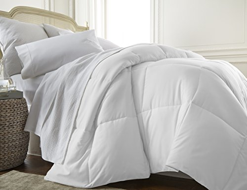 ienjoy Home Collection Down Alternative Premium Ultra Soft Plush Comforter, Twin, White