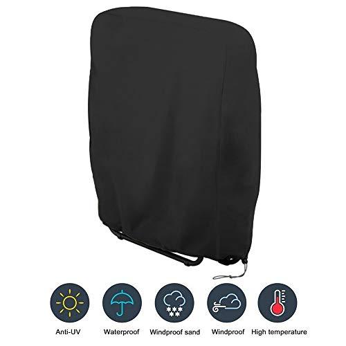 BestAAA - Funda para silla plegable, funda protectora para sillas elásticas, fundas extraíbles y lavables, 71 x 110 cm