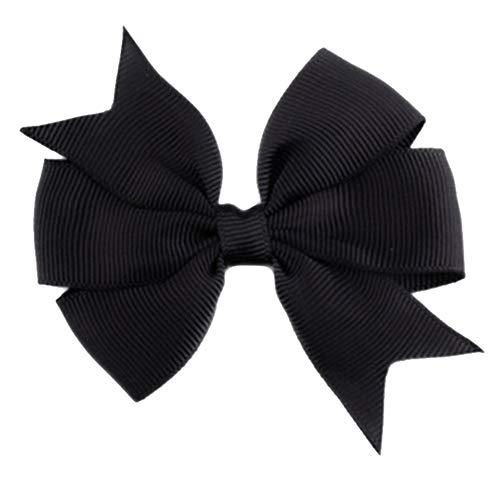 Demarkt Niedlich Schleife Haarclips/Haarspangen Haarschmuck Ribbon Haar-Clips Für Mädchen,Schwarz