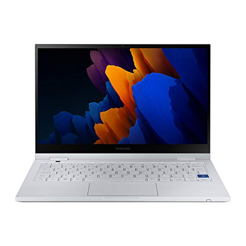 Samsung Galaxy Book Flex2 5G Intel Core i5 - 13.3 Inch 2-in-1 Touchscreen Laptop - Silver (UK Version)