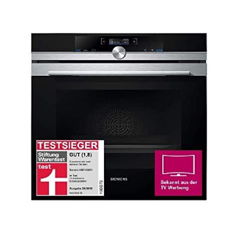 Siemens HB674GBS1 iQ700 Einbau-Elektro-Backofen / Edelstahl / A+ / activeClean Selbstreinigungs-Automatik / coolStart-kein Vorheizen / Backofentür mit SoftMove für gedämpftes Öffnen und Schließen