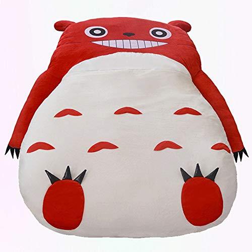 Mopoq Simpatico Pink Totoro Letto singolo Letto Lazy Divano letto per bambini Adulto sacco a pelo Sacchetto divano letto Creativo Divano Lazy Confortevole Morbido Cartone animato Morbido Lavabile rimo