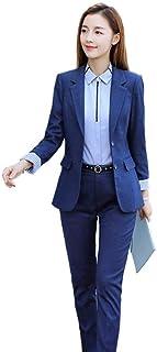 (ツリカラーブイブイ) Tricolor-VIVIレディース セットスーツ OL オフィス ビジネス 通勤 リクルート3点セット 事務服 スカートスーツ パンツスーツ2点セット秋カジュアル