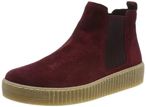 Gabor Shoes Gabor Jollys, Damen Kurzschaft Stiefel, Rot (Camino (Natur) 38), 39 EU (6 UK)