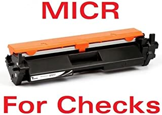 New Era Toner - MICR (CF217A - with Chip) Replacement Toner Cartridge for HP 17A, Laserjet Pro M102, M130fn, M130fw, M130nw Printer - for Checks