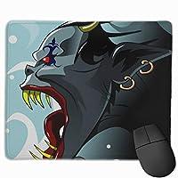 マウスパッド 怪獣 高級感 おしゃれ 防水 耐久性が良い 滑り止めゴム底 ゲーミングなど適用 ( 30*25*0.5cm )マウスパッド