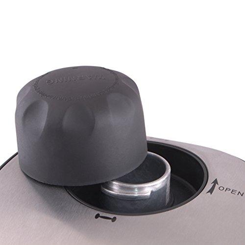 Morphy Richards New Europa 800-Watt Espresso and Cappuccino 4-Cup Coffee Maker (Black)