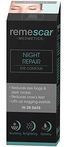 Remescar - Reparación Nocturna - Contorno De Ojos - Reduzca