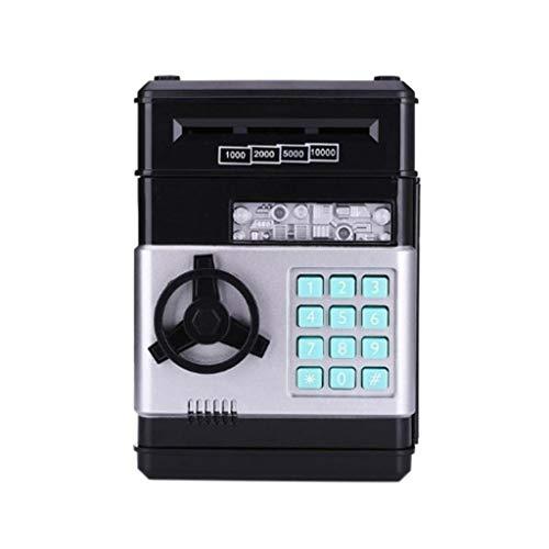 JJZXD Hucha automático ATM contraseña Cash Cash Box de la Moneda Fuerte del Banco Caja Fuerte Billetes Regalo de cumpleaños de los niños