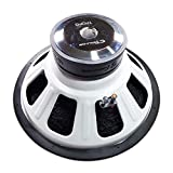 CT SOUNDS 18 Inch Car Subwoofer - Dual 2 Ohm Impedance, 1200W Maximum Power Capacity, Versatile & Powerful Bass, 3' Voice Coil, Rubber Surround for Car Stereo Sound System - Tropo 18 D2