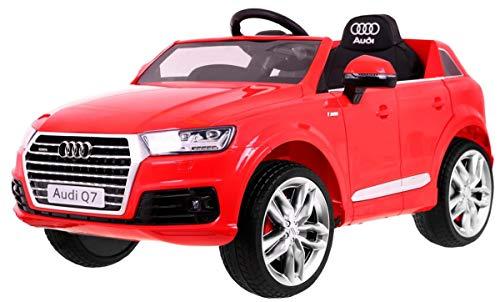 Superkids Store Kinderauto Elektro mit Fernbedienung Mercedes Benz GLA 45 AMG Kinder elektroauto mit Eva R/äder Ledersitz und 4 Sto/ßd/ämpfer rot