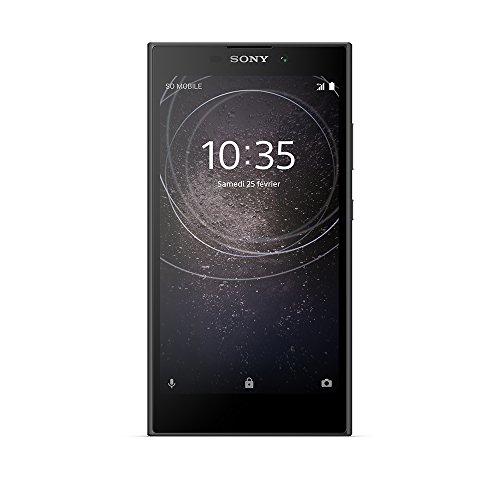 Sony Xperia L2 Smartphone débloqué 4G (Ecran: 5,5 pouces - 32 Go - Nano-SIM - Android) Noir