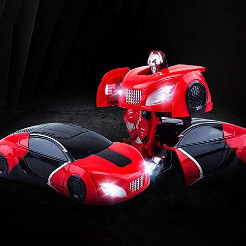 2.4GHz RC Cars, Remote Control Transform Coche Robot, vehíc