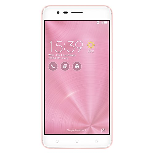 ASUS ZenFone Zoom S - Smartphone de 5.5' (WiFi, 4 GB de RAM, Memoria Interna de 64 GB, cámara de 13 MP, Android 6.0 Marshmallow con ZenUI), Color Rosa Oro