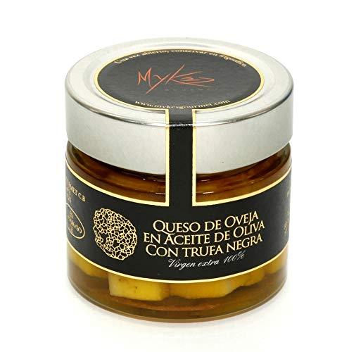 Mykés Gourmet Queso Puro de Oveja en Aceite con Trufa Negra 1500 g