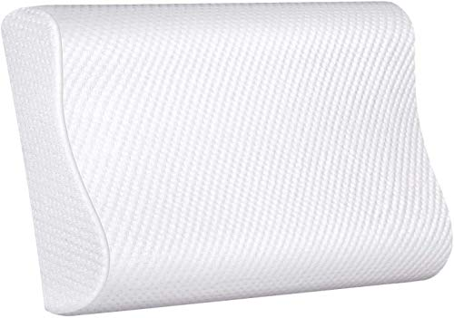 Proliva Contour Memory Foam Pillow- Cervical Massage Deep Sleep Neck Pillow, Prime Soft Supportive Washable Hypoallergenic Pillow Support for Side Sleepers