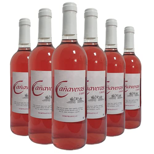 Cañaveras 1889 - Vino Rosado - Vino de la Tierra de Castilla- 6 botellas x 750 ml