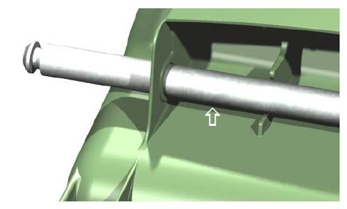 Sulo Mülltonnen Zubehör Ersatzteile Varioeinsätze Schlösser Räder u.v.m. (Ersatzachse MGB 60, 80 und 90 (22196))