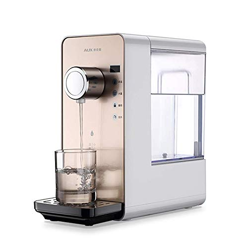 MUBAY Elektrisch Warmwasser-Zufuhr Schnell Heizung Wasserspender und Filter, Hot & Cold Water, Kindersicherheitsschloss, 6-Gang-Temperatureinstellung, 6-Gang-Wasserausgang