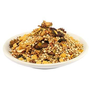 Bio Fairtrade Quinoa Royal Gemüse Topf 1kg für 15 Portionen, Öko Gemüsepfanne, glutenfrei, hefefrei, vegan schnellkochend in 8 – 10 Minuten fertig, sehr aromatisch 1000g
