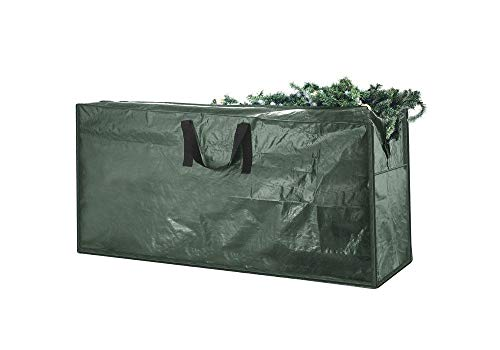 Best Artificial TM Christmas Tree Storage Bag - Large, Strong & Durable. Fits most 6ft, 7ft & 8ft Christmas Trees (120 x 35 x 52 cm).