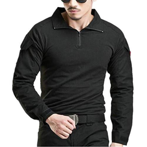 WINDCHASER Ejército Hombres Táctico Militar Manga Camiseta Camo Camisetas