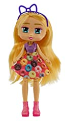 Ready, Set, Unbox with the Boxy Girls! Boxy Girls love online shopping and unboxing all their new fashion finds! This is Series 2 Boxy Girl Hazel. She loves sipping coffee accompanied by a donut! You'll always find her wearing donut skirts! Includes ...