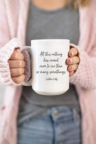 NA Todo Esto Nada ha Significado más para mí Que tantas Cosas Taza de café You 'Ve Got Mail Fan Gift Mug 11oz