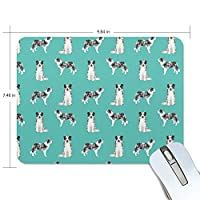 マウスパッド コリー犬 ゲーミングマウスパッド 滑り止め 19 X 25 厚い 耐久性に優れ おしゃれ
