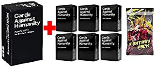 Cards Game Against Humanity Main Game and Expansions 1 2 3 4 5 6 and Fantasy Pack