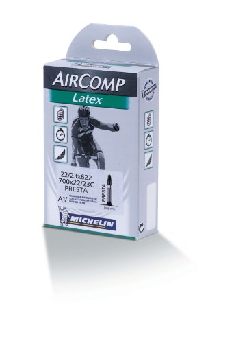Tubo de bicicleta de carretera michelin a1 aircomp latex 700x18c 700x20c presta 36 mm