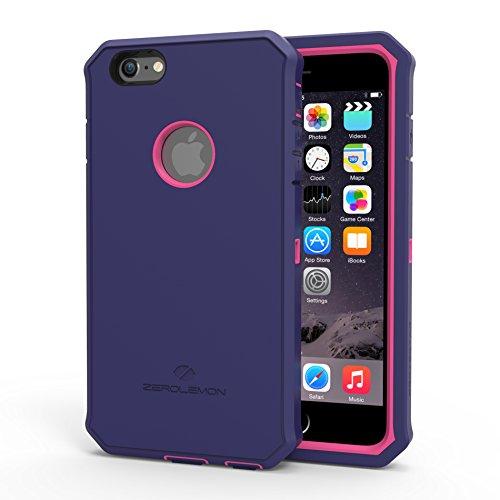 iPhone 6S Plus Rugged Case,ZeroLemon Protector Series Rugged Case + PET Screen Protector for iPhone 6/6s Plus 5.5