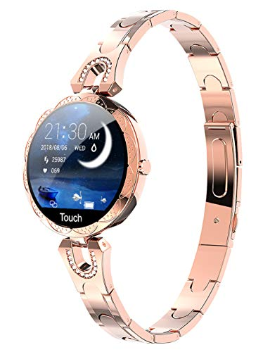 Women Smart Watch for Android iOS Phone Fitness Tracker...