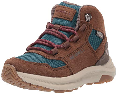 Merrell Kids' Unisex M-Ontario 85 Wtrpf Hiking Boot, Dragonfly, 05.0 M US Big Kid